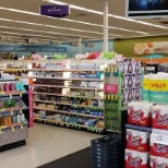 Inside of Walgreens store