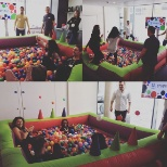 U-Studio ball pit of fun!