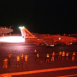 VF-14 Tophatters ( F-14 Full Afterburner at night)