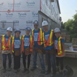 Partner build with our brokers for Habitat for Humanity!