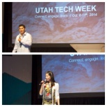 JumpSearch photo: Presenting prominent CEO's in the start up community for Utah Tech Week.