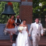 Craft-Olbrich wedding in the Carillon Gardens June 2013; both graduated from CU May 2013