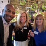 Dannon, Beth and Karen, AT Recruiter at the traveler and recruiter meet and greet party in Arizona.