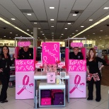 Ulta BCRF Kiss a Cop for a Cure Event