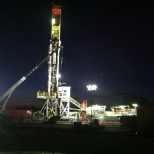 Night shift in the Marcellus