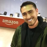 All smiles at the Amazon Corporate office.