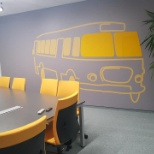 photo of Kantar, Get on the bus in Warsaw