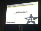 180fusion ranked #11 on Top 100 Fastest Growing in LA