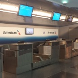 The new American Logo terminal 8