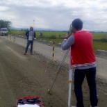 Surveying using a total station