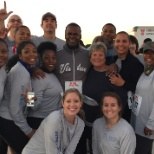 Enterprise Holdings employees participate in 5K run for charity.