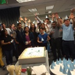 Marin Software photo: Celebrating our July birthdays!