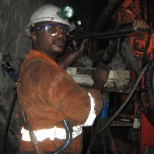 I'm still working in long hole stope with long hole machine Tamrock/Sandvik DL 21O.