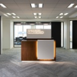 Sleek new offices for Informatica Japan in Tokyo greet visitors and employees alike