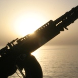 Sunrise and Firepower onboard the USS Mustin DDG 89 on her maiden deployment 2005