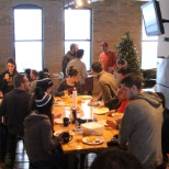 Sport Ngin photo: Annual holiday breakfast