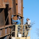Large Steel Chute Project