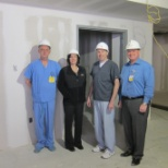 Morton Hospital photo: Construction of New Emergency Department