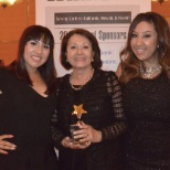 ATR International, Inc. photo: Co-founder Maria Novoa receives the NMSDC Regional Supplier of the Year Award.