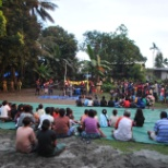 "Department of Corrections photo: ""In mate/Out mate Out reach Program"". Prisoner, Community Participation in Activities."