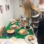 The oncology team hosted a bake-off in aid of Macmillian Cancer Support
