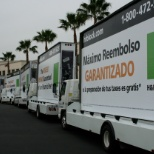 Mobile Billboards promoting Maximum Refund - very successful campaign.