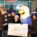 Texas Trust donates $5,000 to Toys for Tots