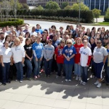 Pier 1 Imports Associates participate in the American Heart Association 2013 Day of Walking.
