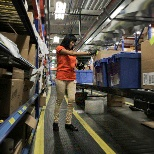 McKesson photo: Working in a Distribution Center