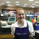Family Christian photo: Working at the Family Christian Store in Fair Oaks Mall.