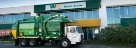 Think Green Think Clean with Waste Management's Compressed Natural Gas powered trucks.