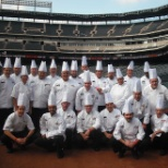 Delaware North photo: Talented culinary team coming together at Rangers Ballpark!