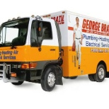 Box Truck for plumbers - HVAC techs, install, Q/A, and Electricians drive vans or pick up trucks