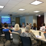 Great discussion about mentors and sponsors with the Women's Interest Group for our July meeting!