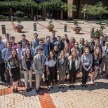 Group of Summer interns at Reynolds headquarters in Dayton, Ohio.