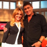 with Steven Bauer