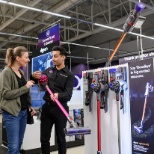 Dixons Carphone photo: Sales Consultant helping customers enjoy amazing technology in store