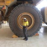 Visit to the Mine Maintenance workshop