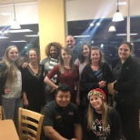 Bojangles' Restaurants, Inc photo: All of the managers and two soon to be manager after the Christmas party!!