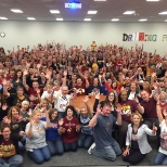 Cavs Watch Party at Store Support Center!