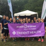 Trident Medical Center photo: Trident staff the March of Dimes walk