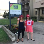 CLV Group celebrating Canada Day in style!