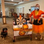 Sunrise of Fullerton, CA, held a Spirit Day where team members wore orange and won prizes!