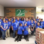 Walmart connected me with many opportunities to volunteer in the community.