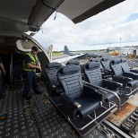 Palletized seating for Royal New Zealand Air Force