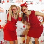 American Heart Association photo: Our Go Red events are always fun and educating.