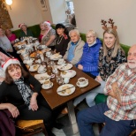 Christmas gathering with our Aras Mhuire tenants!