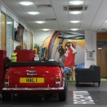 photo of Halfords, Welcome! Our Support Centre Reception