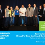 Driscoll's photo: Microsoft Awards Driscoll's CIO & team