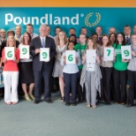Poundland photo: Fundraising for our charity of the year MacMillan